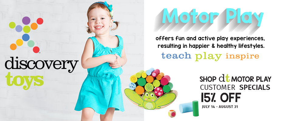 Discovery Toys Motor Play Summer Sale