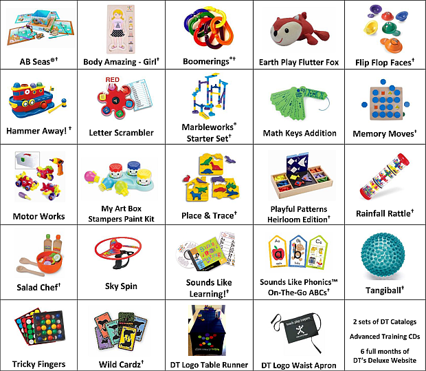 Discovery Toys Business Builder Sales Kit