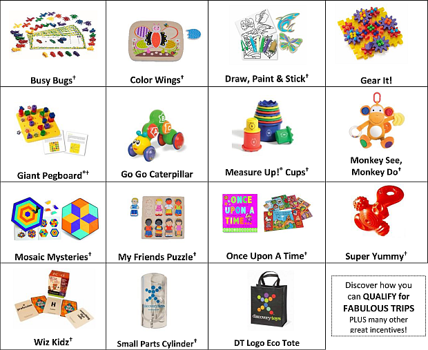 Discovery Toys Launch Sales Kit